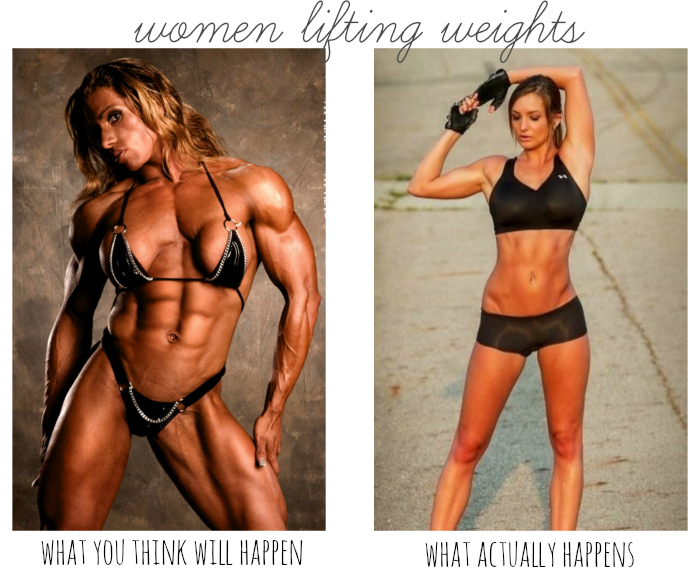 Why women can lift weights