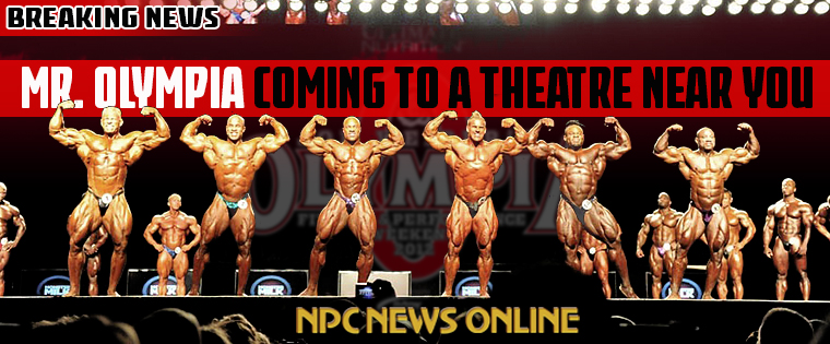 Mr Olympia Trailer Poster